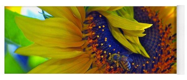 Rich In Pollen Yoga Mat