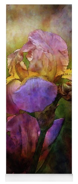 Rich Purple Irises 0056 Idp_22 Yoga Mat
