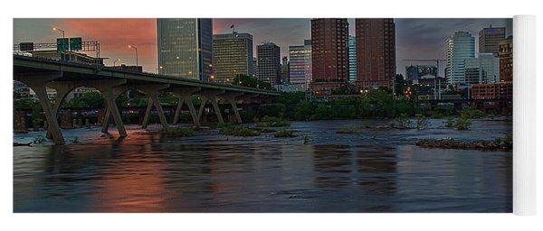 Richmond Dusk Skyline Yoga Mat