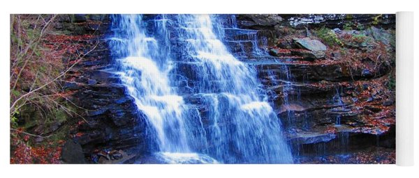 Ricketts Glen Waterfall 3941  Yoga Mat