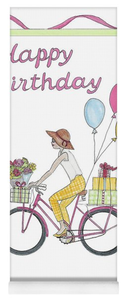 Ride In Style - Happy Birthday Yoga Mat