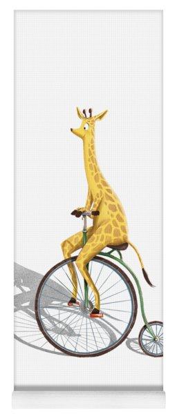 Ride My Bike Yoga Mat