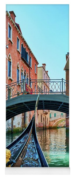 Ride On Venetian Roads Yoga Mat