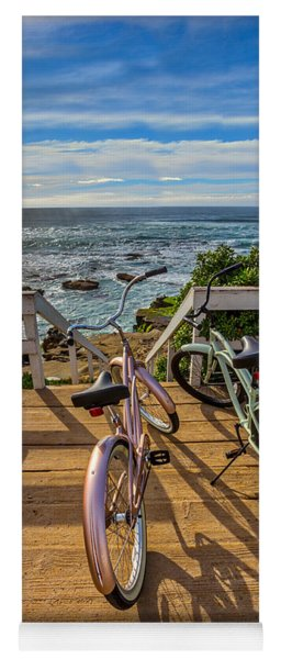 Ride With Me To The Beach Yoga Mat