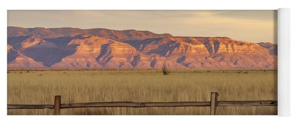 Ridge Outside Alamogordo Yoga Mat