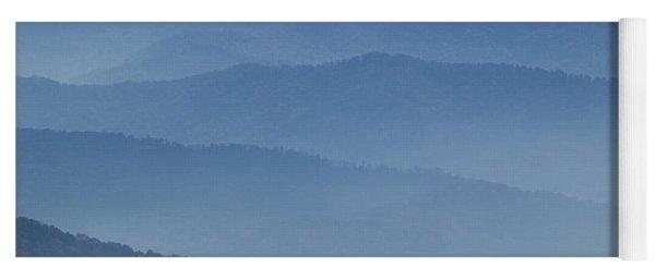 Ridgelines Great Smoky Mountains Yoga Mat