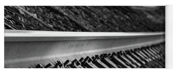 Riding The Rail Yoga Mat