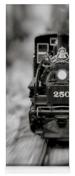 Riding The Railways Yoga Mat