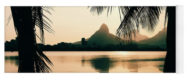 Rio De Janeiro, Brazil Landscape Yoga Mat