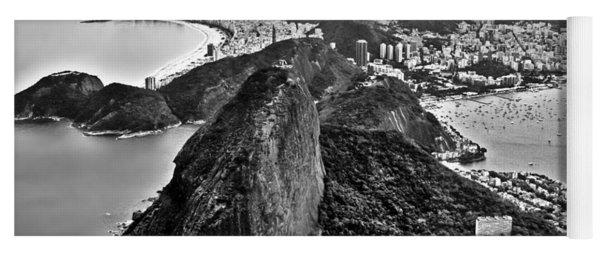 Rio De Janeiro - Sugar Loaf, Corcovado And Baia De Guanabara Yoga Mat