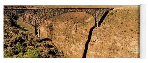 Rio Grande Gorge Bridge Taos New Mexico Yoga Mat