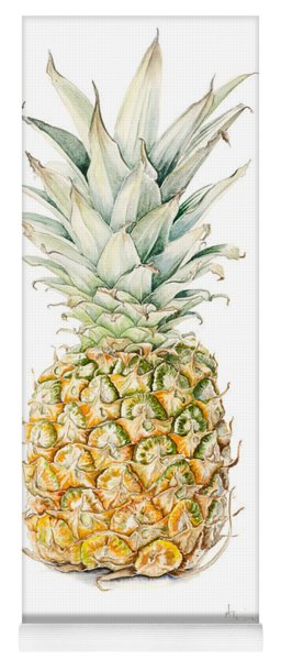 Ripe Pineapple Yoga Mat