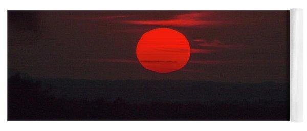 Rising Sun In Texas Yoga Mat