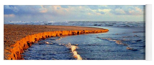 Rising Tide At Sundown  Yoga Mat