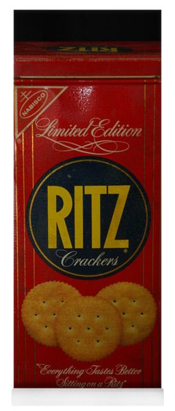 Ritz Crackers Yoga Mat