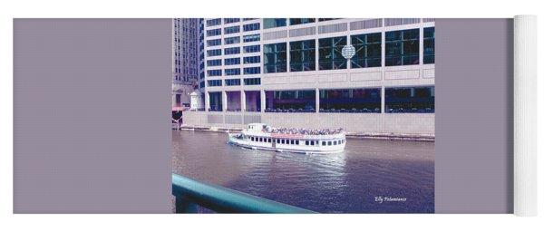 River Boat Tour Yoga Mat