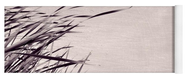 Yoga Mat featuring the photograph River Grass by Michelle Calkins