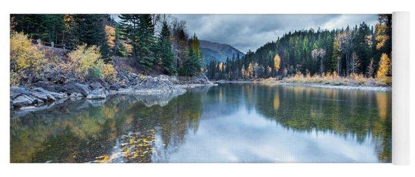 River Reflections Yoga Mat