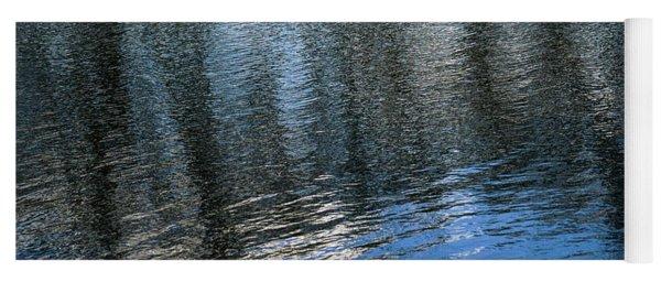 River Ripples 1 Yoga Mat