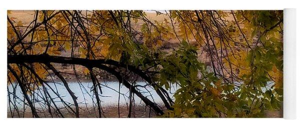 River Scene Yoga Mat