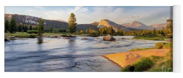 River Sunset  Yoga Mat