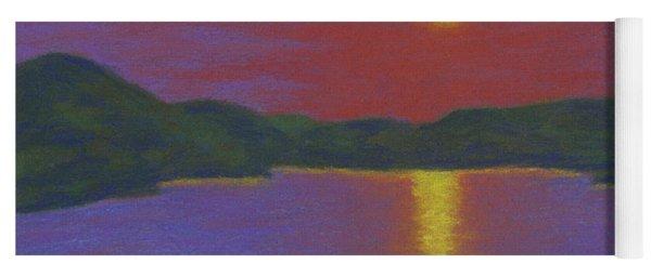 Riverboat Sunset Yoga Mat
