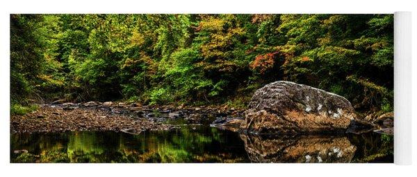 Riverside Early Fall Color Yoga Mat