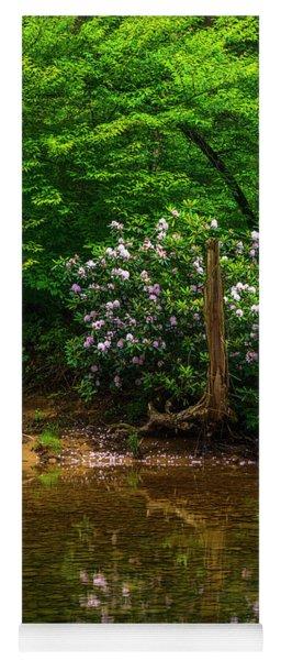 Riverside Rhododendron Yoga Mat
