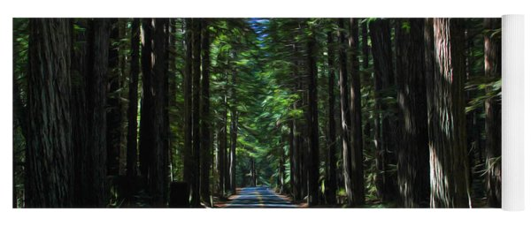 Road To Mendocino Yoga Mat
