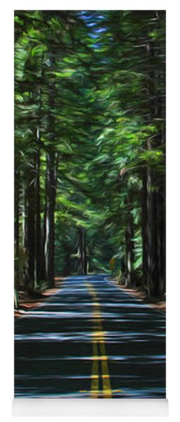 Road To Mendocino Yoga Mat