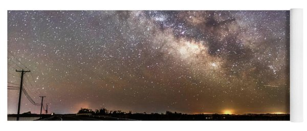 Road To Milky Way Yoga Mat
