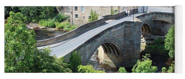 Roadbridge Over The River Tees Yoga Mat