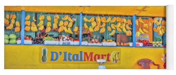 Roadside Vendor Yoga Mat