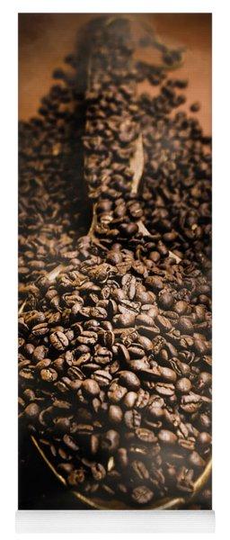 Roasting Coffee Bean Brew Yoga Mat