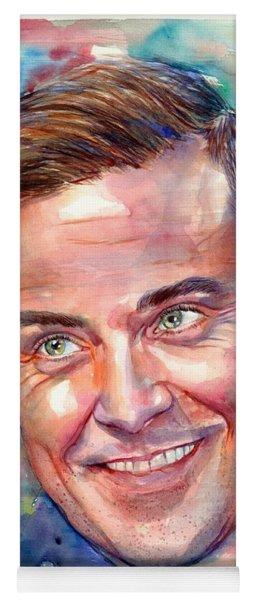 Robbie Williams Portrait Yoga Mat