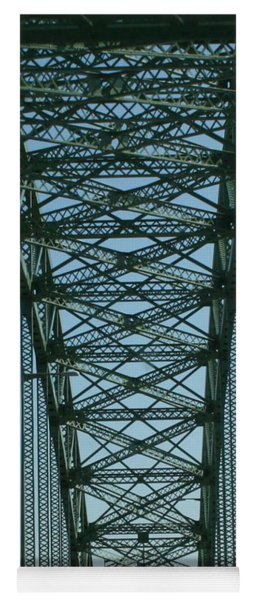 Robert Moses Causeway Bridge Yoga Mat