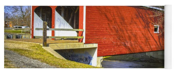 Roberts Covered Bridge Yoga Mat