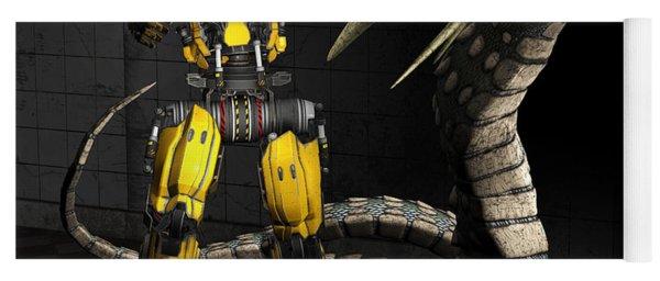 Robot Series 01 Yoga Mat