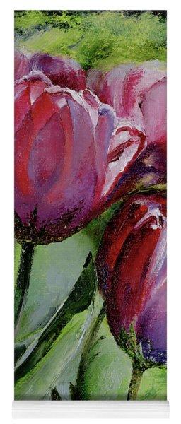Rochelle's Springtime Tulips Yoga Mat
