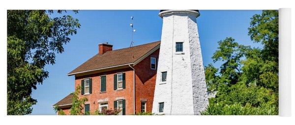 Rochester Genesee Lighthouse Yoga Mat