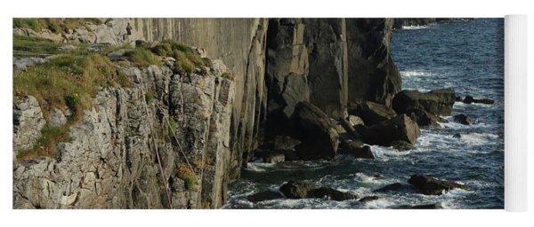 Rock Climbing Burren Yoga Mat