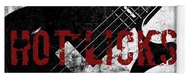 Rock N Roll Guitar Yoga Mat