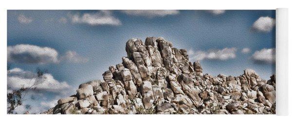 Rock Pile - Painterly Yoga Mat