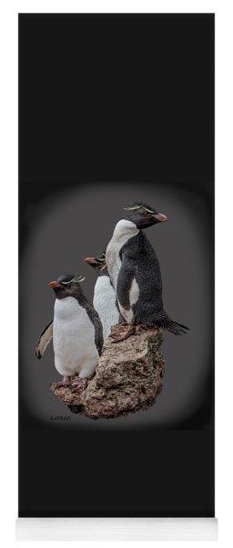 Rockhopper Penguins Yoga Mat