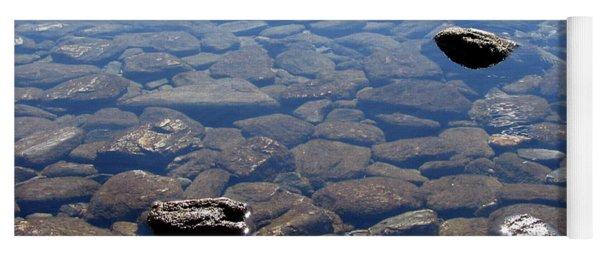 Rocks In Calm Waters Yoga Mat