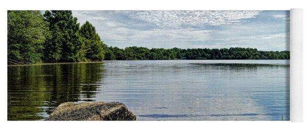 Rocky Fork Lake Yoga Mat