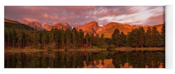 Rocky Mountain National Park Sunrise Yoga Mat