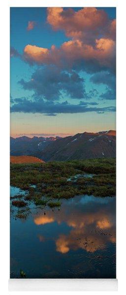 Rocky Mountain Reflections Yoga Mat