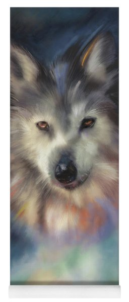 Rocky Mountain Wolf Series Yoga Mat