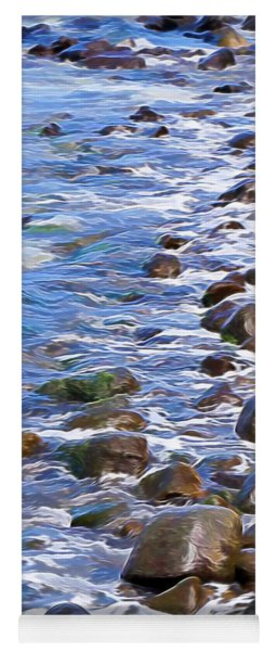 Rocky Shores Yoga Mat